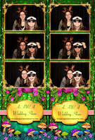 A-AWA Spring 2016 Wedding Show at Six Flags Great Escape Resort with Overtime Photo Booth 123806