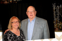 Gail and John 50th Anniversary Party at Dunham's Bay Resort with Overtime Photo Booth 171317