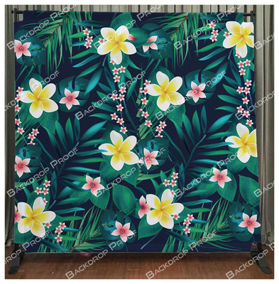 Aloha photo booth backdrop for your event.