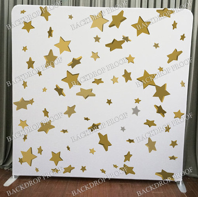 Confetti Stars photo booth backdrop for your event.