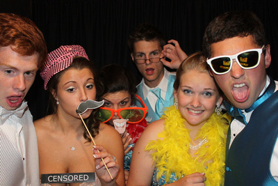 Photo Booth at Prom
