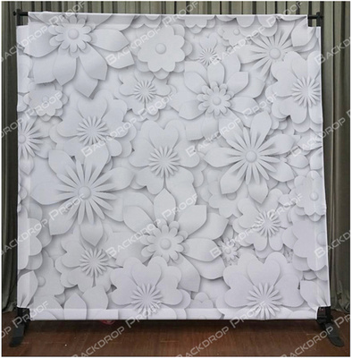 Paper Flowers photo booth backdrop for your event.