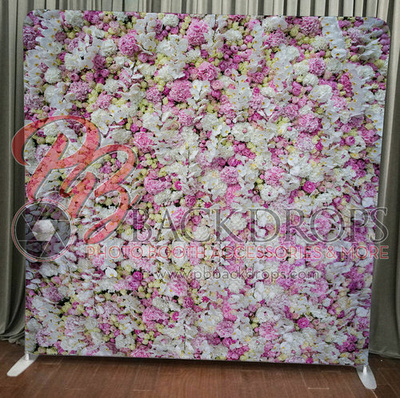 Spring Floral Wall photo booth backdrop for your event.